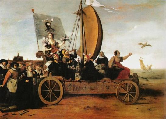 El Vagón de los locos de Flora-Hendrik Gerrits Pot (1640)