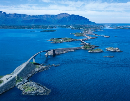 Atlanterhavsveien, Atlantic Road