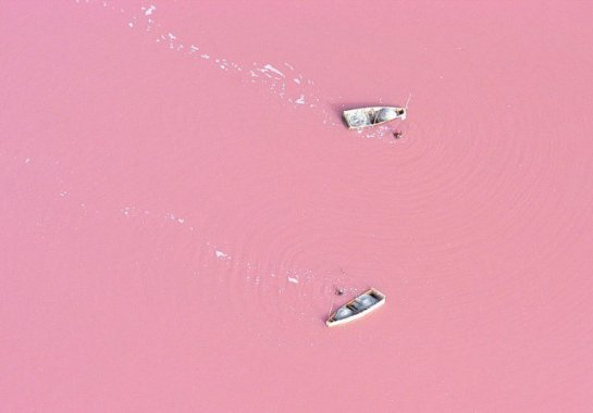 Retba (Senegal) el lago de color rosa
