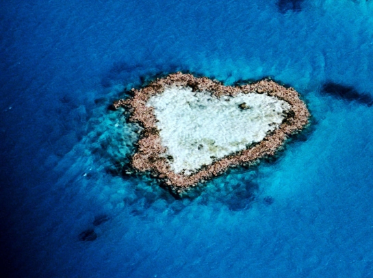 Hardy Reef, cerca de las islas Whitsunday, enla gran barrera de coral, en Queensland (Australia)