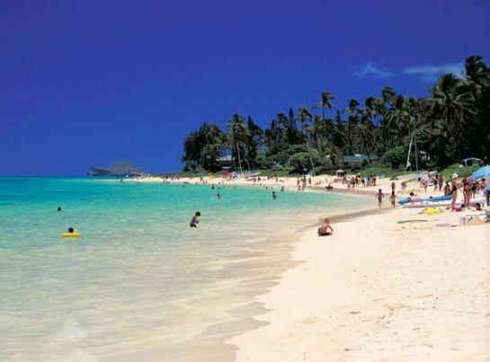 Lanikai Beach, Hawai