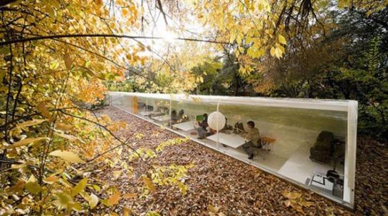 La oficina de arquitectura de la frima Selgas Cano, en Madrid