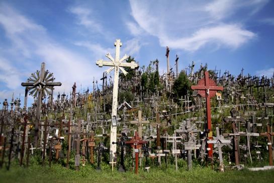 la colina de los crucifijos, Lituania