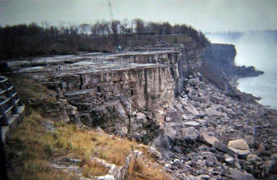 Las Cataratas Americanas del Niágara, secas!!!