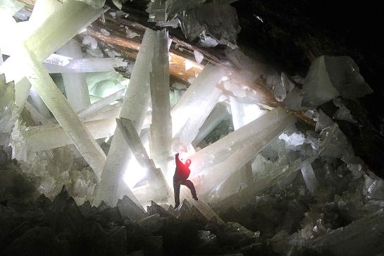 Cueva de cristal de Naica
