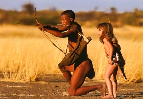 Tippi Degré, una más entre las tribus del Kalahari