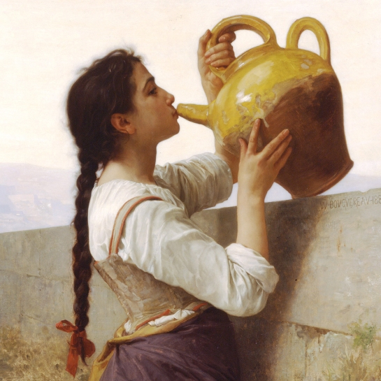"""Sed"", 1886 (detalle). William Adolphe Bouguereau (1825-1905)"