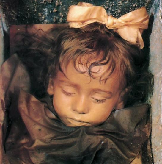 Rosalía Lombardo, la bella durmiente de Sicilia