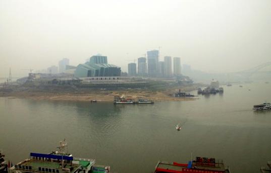 El río Yang Tze, uno d elos más contaminados del mundo