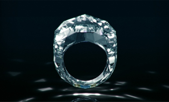 Shawish: anillo de diamante