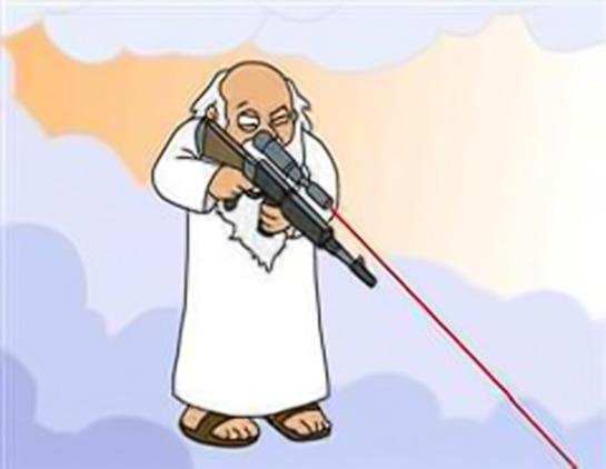 """¿Es Dios un psicópata caprichoso, vengativo, impredecible, irascible?. En la irreverente serie de animación """"Padre de familia"""" no lo muestran como un dechado de virtudes. Y el Antiguo Testamento, tampoco."""