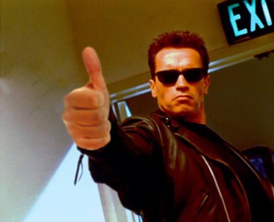 Terminator Thumb-Up