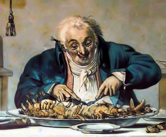 El Síndrome de Gourmand