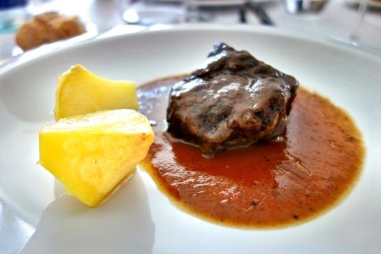 Restaurante Plácido, Carrilleras de ternera estofadas en Mencía