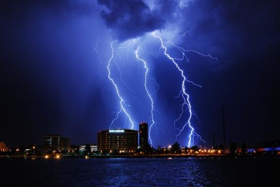 Tormenta sobre Tempe, Estados Unidos (©jackdog2508)