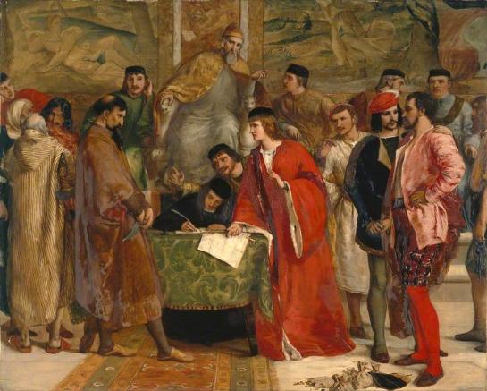 La derrota de Shylock